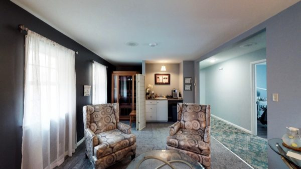 SW The Spa Day Spa & Skin Care Center Gloversville New York - Changing Room with fireplace