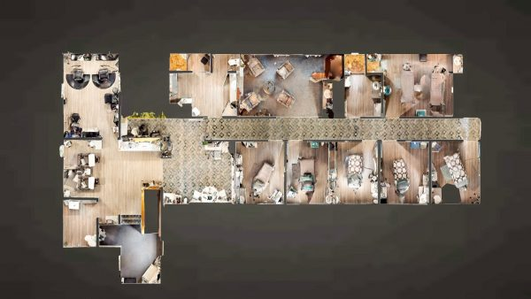 SW The Spa Day Spa & Skin Care Center Gloversville New York - Top Down Complete View