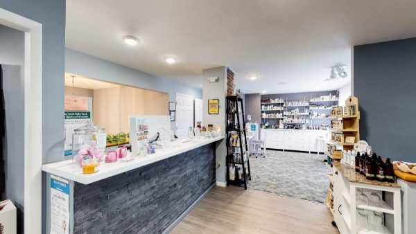 SW The Spa Day Spa & Skin Care Center Gloversville New York - Stone counter